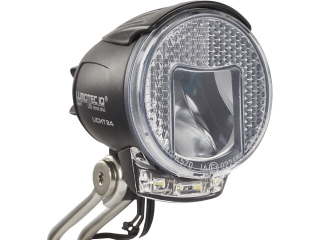 Busch + Müller Lumotec IQ Cyo RT senso plus LED-frontlys, sort